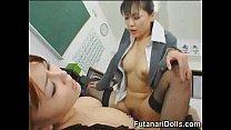 Futanari Tastes Own Cum!