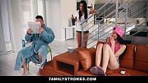 FamilyStrokes - Hot Asian Teen Fucks StepDad While Mom Sleeps preview image