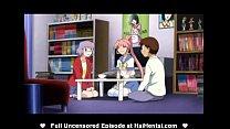 Screenshot Anime Pussy Titfuck Hentai Sister Futanari Sist