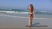 sexy teen nudist at beach Image