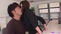 Naughty Secretary Yui Kasuga Creampied