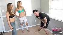 Sasha Foxxx Teaches Jenny How To Ballbust JASON NINJA FEMDOM preview image