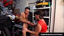 Cuban BBW Angelina Castro Blows & Bangs A Mechanic's Cock! thumbnail