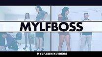 MYLF - Beautiful Milf Boss Gets Fucked Aggressively By Lean Stud - 69VClub.Com