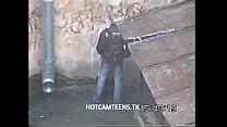 Coed Teens Caught Fucking In The StreetsHotC