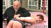 Taut vagina extreme bondage in home xxx video