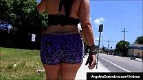 Latina BBW Angelina Castro Fucked By A Big Black Dick! - 9Club.Top