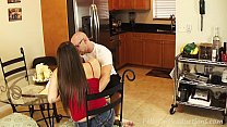 Melanie Hicks & Madisin Lee in Mom Teaches Son's Girlfriend to Give Head thumbnail