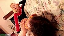 A Bad Girl Part 2 - Cute Blonde Pantyhose Foot ... thumb