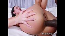 Curvy Babe Angela White Enjoys Anal And Facial