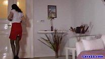 British Girls teases herself on Webcam - HotGir...