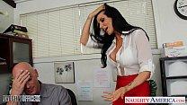 Office babe in high heels Romi Rain fucking