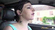 Zahia la pute se fait défoncer sur un parking