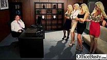 Busty Office Girl (courtney nikki nina summer) Get Busy In Hardcore Sex Scene clip-12