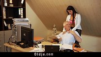 Smutty profesor fucks sweet 18 girl on his desk thumb