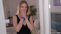Busty lovers wanns slide their dicks between Britney Amber's amazing boobs