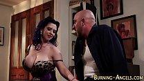 Pinup Emo Slut Rides Cock