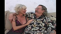 Mature Couple Swings With Young Cock thumbnail