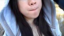 Screenshot My Cute Asian Girlfriend Sucking Me Off In A Pu