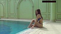 Lina Mercury hot underwater naked teen's Thumb