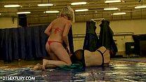NudeFightClub presents Lyen Parker vs Lucy Heart