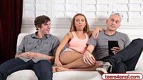 Girlfriend wants boyfriends roommate to fuck her ass Preview