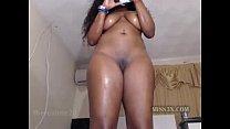 Black lady mastrubation
