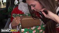 BANGBROS - A Very Bang Bus Christmas with Mia Monroe and Santa Claus Image