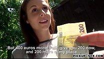 Czech slut Antonia Sainz banged for cash