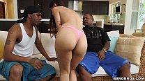 Mia Khalifa meets 2 Big Black Cocks preview image