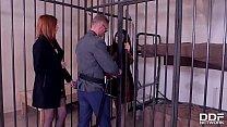 Luxury Hookers Billie Star & Linda Sweet Are Served Anal Sex In Prison