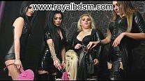 Mistress Kennya Mistress Sheyla Mistress AidaRuler Mistress Lexa Show with a blonde submissive girl