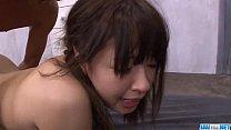 Buruma Aoi sex in threesome ending with orgasm thumbnail