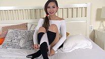 Beautiful busty UK Asian teen Harriet Sugarcookie