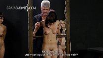 Cruel Boob Torture For The Slave Girls