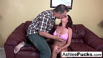 Ashlee orders some man meat after she dumps her...