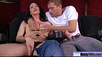 Sex Tape With Hotny Big Tits Slut Wife Clip-28