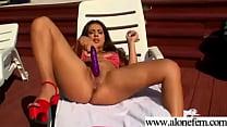 Cute Amateur Teen Girl Masturbating clip-16
