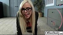 (nina elle) Sexy Girl With Big Boobs Banged In Office movie-24's Thumb