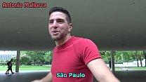 ME PILLO UNA MODELO FITNESS BRASILEÑA EN EL PARQUE Y LE DOY POR EL CULO EN CASA