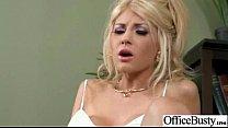 Superb Woker Girl (kayla kayden) With Big Tits Get Hard Sex In Office clip-15