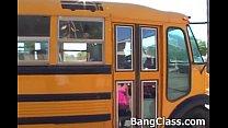 School bus driver fucking teen girl