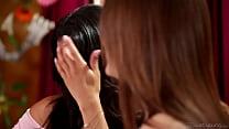 Veronica Rodriguez teaching Jojo Kiss - Girlsway preview image
