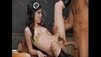 Voodoo shows Annabelle Lee aka Anna Pierceson how good a bush pilot he is pornhub video