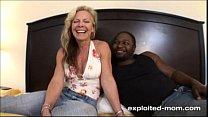 Blonde Milf gets her Back Blown Out by a Big Black Cock Interracial Video Vorschaubild
