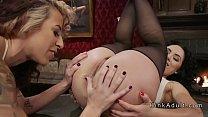 Mistress anal punishing bad slaves