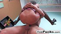 Asa Gets Pounded hard thumbnail