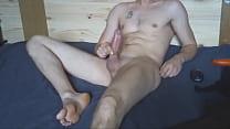 NicoExhib naked masturbation with feet