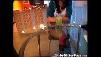 Danni Cole Naughty Teen Babysitter - Creampie thumbnail