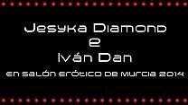 Jesyca Diamond e Ivan Dan en el SEM 2014